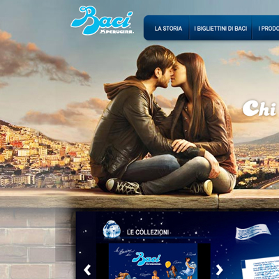 Baci Perugina new web site is online